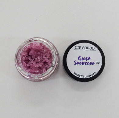 Grape Snowcone Natural Lip Scrub