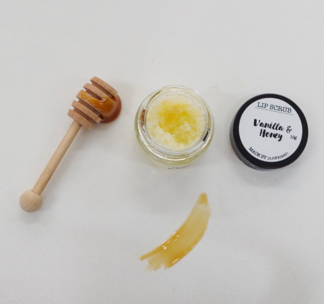 Vanilla & Honey Lip Scrub