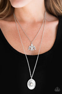 Desert Eagle - White Necklace Set