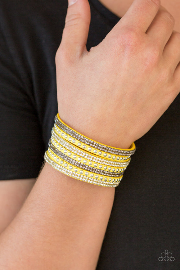 Victory Shine - Yellow Urban Bracelet