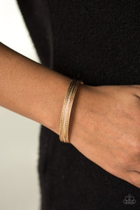 High Fashion - Gold Cuff
