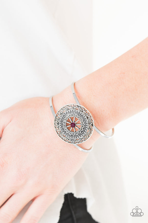 Cool Compass - Purple Cuff