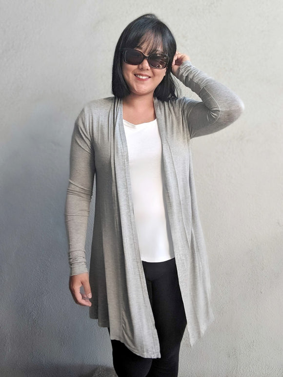 Waterfall Cardigan - Gray