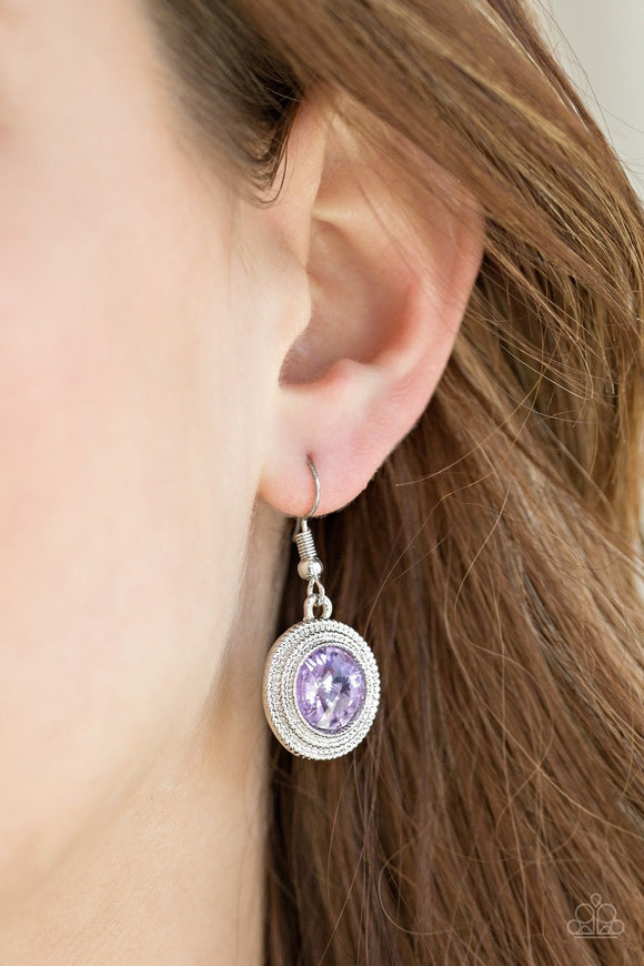 Beginners LUXE - Purple Earrings