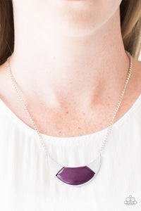 Run With The Pack - Purple Necklace Set