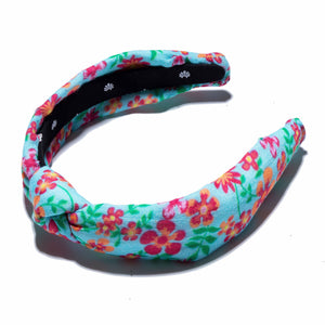Solid & Striped x Lele Sadoughi Slim Knotted Ditsy Floral Headband
