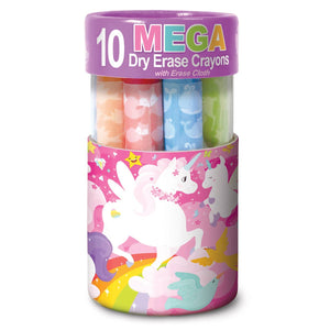 The Piggy Story Unicorn Land Dry Erase Mega Crayons