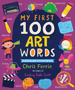 Sourcebooks My First 100 Art Words (a STEM Board Book)