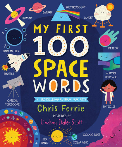 Sourcebooks My First 100 Space Words (a STEM Board Book)