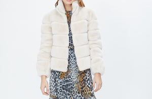 Generation Love Jodi Stone Faux Fur Jacket