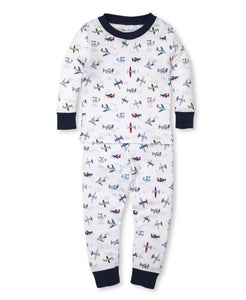 kissy kissy Airplanes Toddler Pajama Set