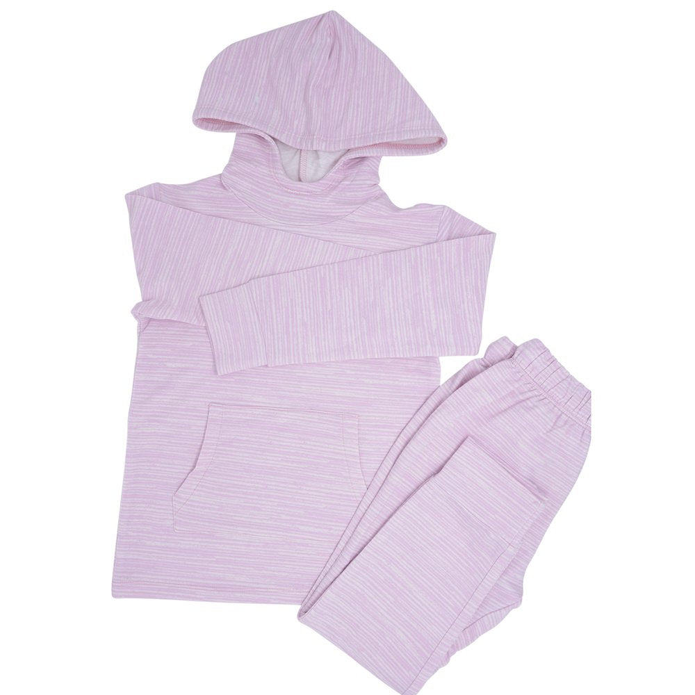 Sweet Bamboo French Terry Lilac Jogger Set
