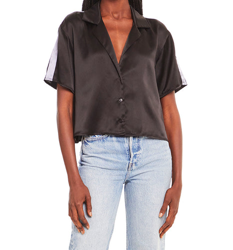 Amanda Uprichard Jaelyn Black Top