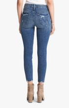 Mother Denim The High Waisted Looker Ankle Fray in Get Your Groove Back