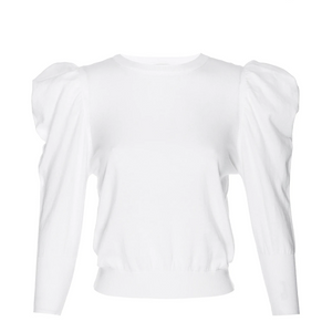 Misa Guthrie Knit White Sweater