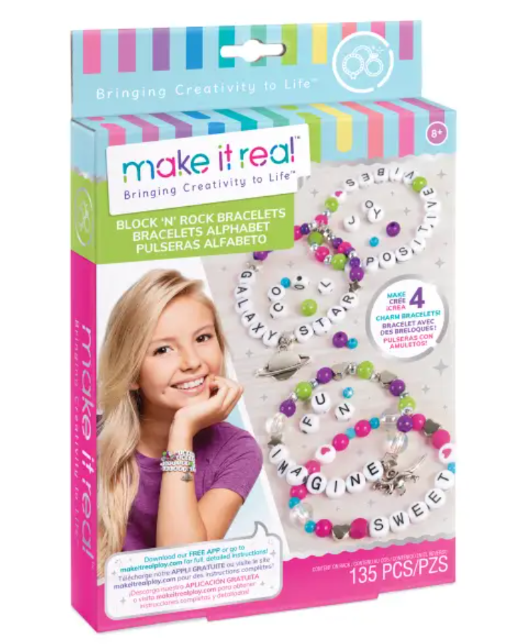 Make It Real Block and Rock Bracelet Kit
