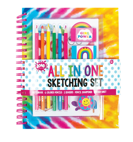 Make It Real All in One Tie Dye Sketching Set