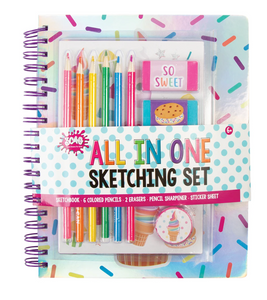 Make It Real All in One Sweets Themed Sketching Set