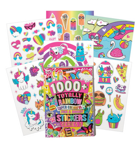 Fashion Angels 1000+ Rainbow Neon Sticker Book