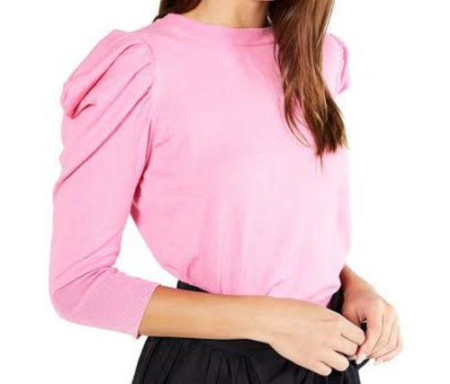 Misa Guthrie Knit Pink Sweater
