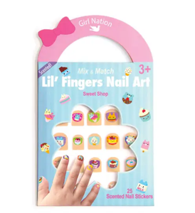 The Piggy Story Lil' Fingers Sweet Shop Nail Art