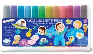 The Piggy Story Space Adventure Doodle Gel Crayons