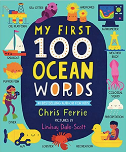 Sourcebooks My First 100 Ocean Words (a STEM Board Book)