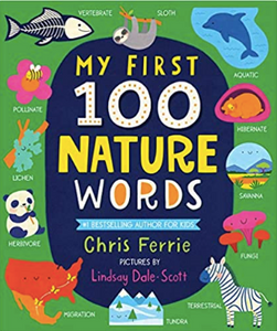 Sourcebooks My First 100 Nature Words (a STEM Board Book)