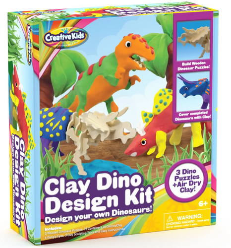 Creative Kids Dino Design Clay Kit