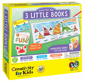 Creativity for Kids Create Your Own 3 Book Set