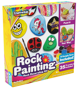 Creative Rock Painting Activity Kit