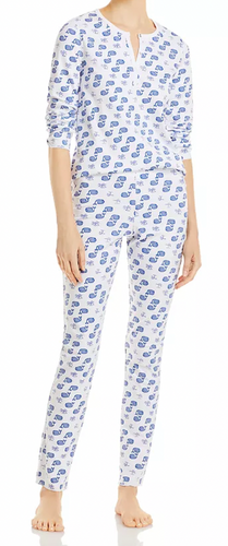 Roller Rabbit Moby Whale Pajamas