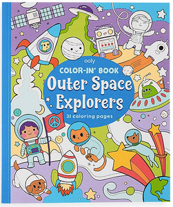ooly Outer Space Explorers Coloring Book