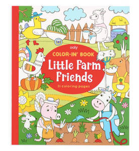 ooly Little Farm Friends Coloring Book