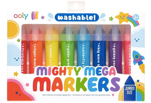 ooly Mighty Mega Markers (8 Washable)