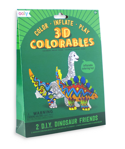 ooly 3D Colorables - Dinosaur Friends - Set of 2