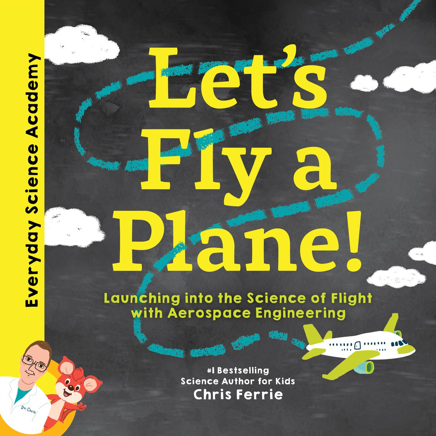 Sourcebooks Let's Fly A Plane (a STEM Board Book)