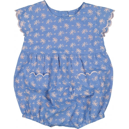 Louis Louise Filla Blue Overalls