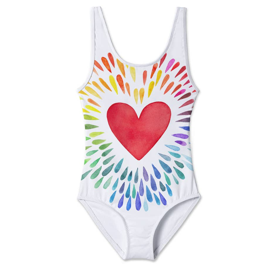 Stella Cove Happy Heart Tank Swimsuit