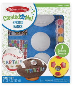 Melissa & Doug Decorate-Your-Own Sports Set Craft Kit