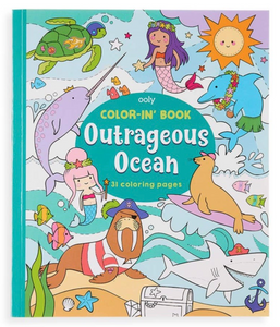 ooly Outrageous Ocean Coloring Book