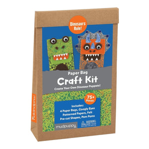 Mudpuppy Dinosaurs Rule! Paper Bag Craft Kit