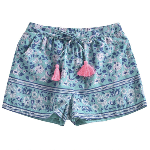 Louise Misha Vallaloid Emerald Flowers Shorts