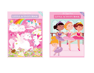 The Piggy Story Activity Book Set: Unicorns & Pretty Little Ballerinas
