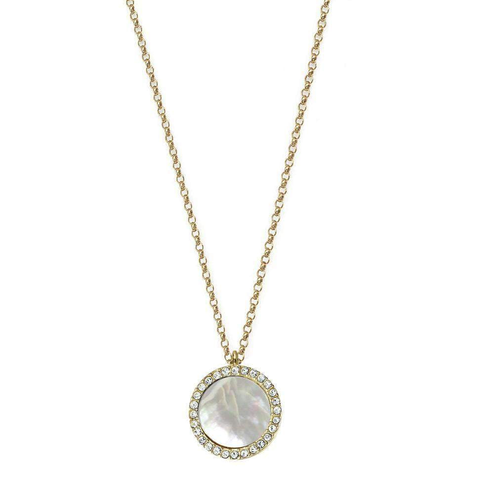 Jaimie Nicole Pearly White Round Necklace