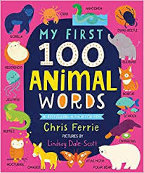 Sourcebooks My First 100 Animal Words (a STEM Board Book)