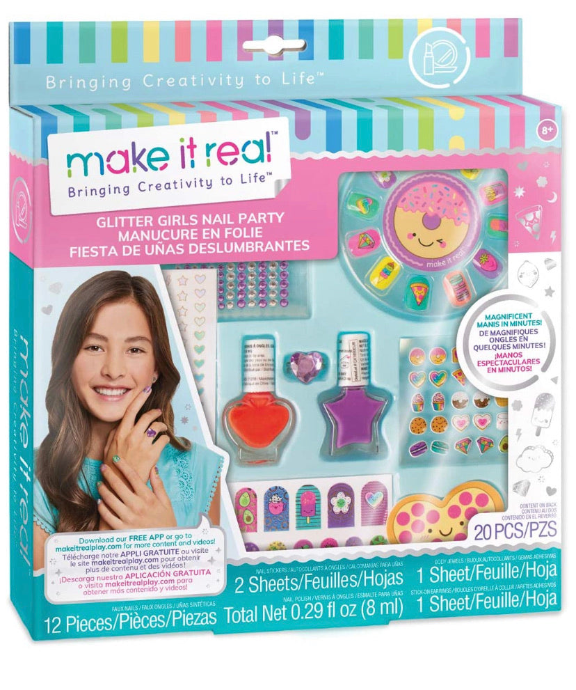 Make It Real - Glitter Nails Party Kit