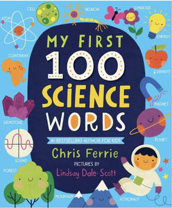 Sourcebooks My First 100 Science Words (a STEM Board Book)