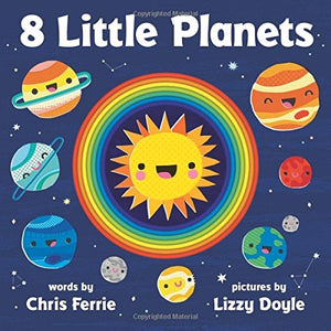 Sourcebooks 8 Little Planets (a STEM Board Book)