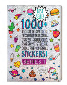 Fashion Angels 1000+ Ridiculously Cute Sticker Book